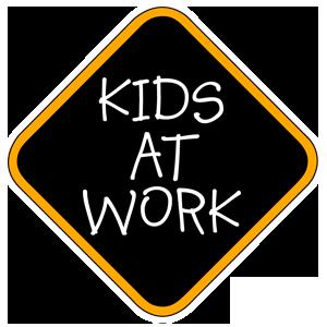 Kids at work Logo